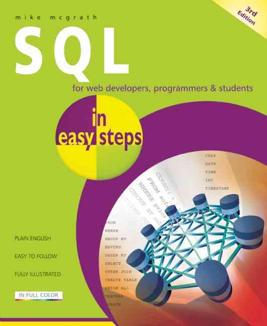 SQL in Easy Steps By McGrath, Mike